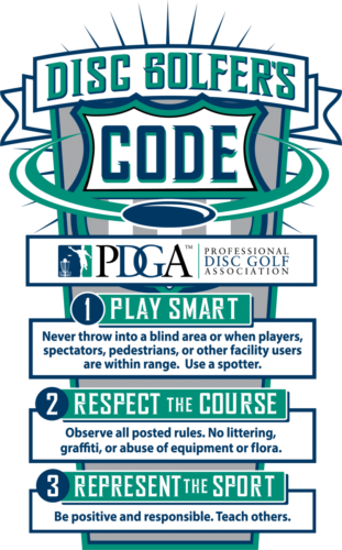 Discgolfers Code der PDGA