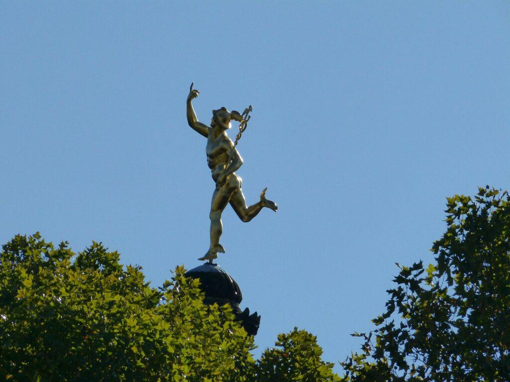 Discgolf-Statue in Stuttgart?